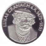 Cranach Münze
